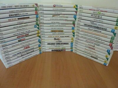 Nintendo Wii Games  All Complete With Instructions