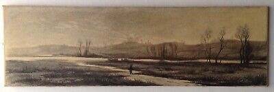 CAMILLE COROT Pencil Drawing 19th Century Hunter Landscape BARBIZON SCHOOL