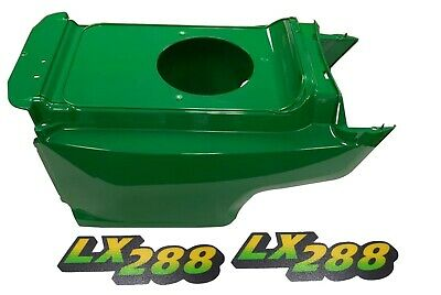 New Lower Hood & Set of 2 Decals Replaces AM132688 M126054 Fits John Deere LX288