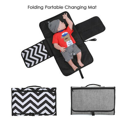 Baby Diaper Changing Mat Portable Foldable Washable Travel Nappy Pad Waterproof