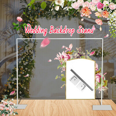 Backdrop Stand Telescopic Wedding Party Photo Photography Studio System