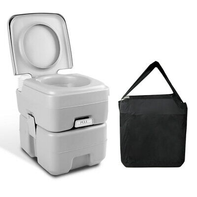 Weisshorn 20L Outdoor Portable Toilet Camping Potty Caravan Travel Boating