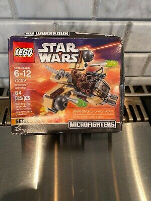 LEGO STAR WARS Microfighters Wookie Gunship 84pcs Brand New Sealed 75129