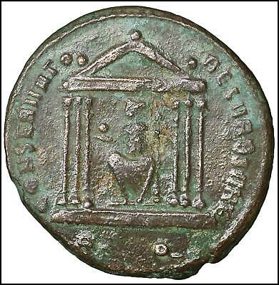 Constantine I Rome Follis old ancient roman coin Rome Empire Imperial Bronze