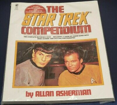 1993 The Star Trek Compendium Softcover Reference Book Allan Asherman NEW SEALED