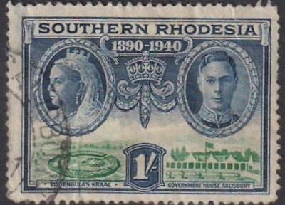 Southern Rhodesia - 50th Anniversary of British South Africa Company 1940 - UUH