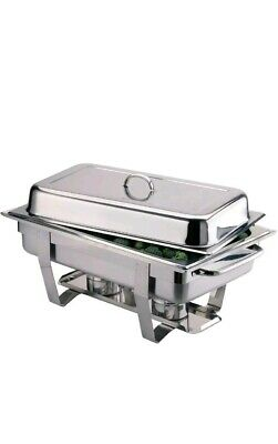 Milan Chafing Dish Pack 9Ltr Commercial Catering Buffet Self-Service Food