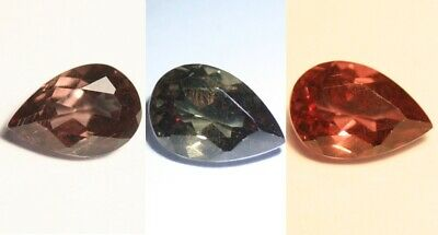 1.17ct Colour Change Garnet - Custom Cut Gem with Rare Superb Colour Change