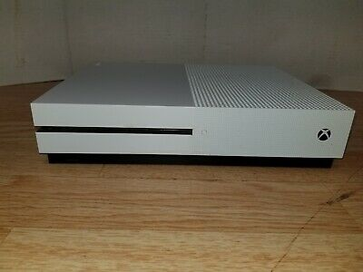 Microsoft Xbox One S 500GB 1681 White Console  - AS-IS For Parts ONLY