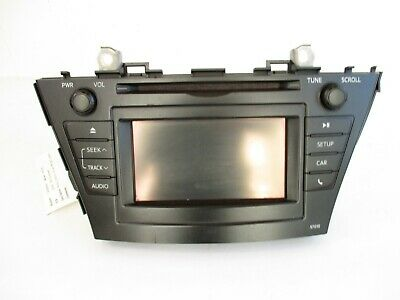 2012-14 Toyota Prius Dash Receiver Display Screen Assembly OEM ID 57010