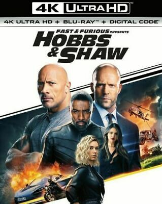 Fast & Furious Presents: Hobbs & Shaw (4K UHD Disc Only) Ships Today!