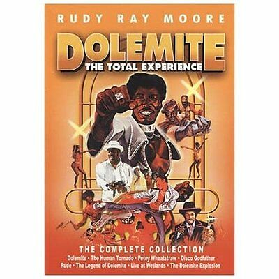 Moore,Rudy Ray-Dolemite: The Total Experience (8Pc)  Dvd New