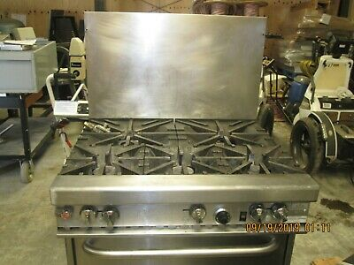 Southbend 5 Burner Commercial Gas stove