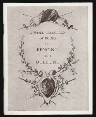 Small Collection of Books on Fencing and Duelling