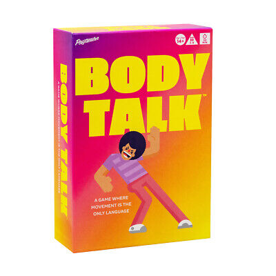 Buffalo Games BODY TALK Charades Hilarious PARTY BOARD GAME ~ Factory Sealed