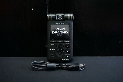 Tascam DR-V1HD Video / Linear PCM Recorder PCM/HD