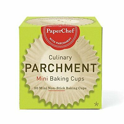 PAPER CHEF, PARCHMENT BAKING CUPS,MIN 90 CT Pack of 12