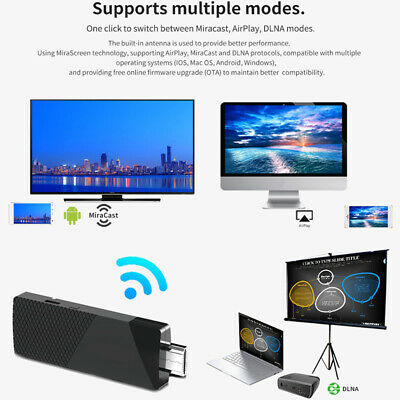 HDMI Wireless WiFi Display TV Dongle Receiver 1080P Airplay Miracast DLNA .