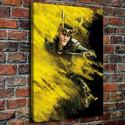 "12""x16""Thor Character 6 HD Canvas prints Painting Home decor Picture Room Wall"