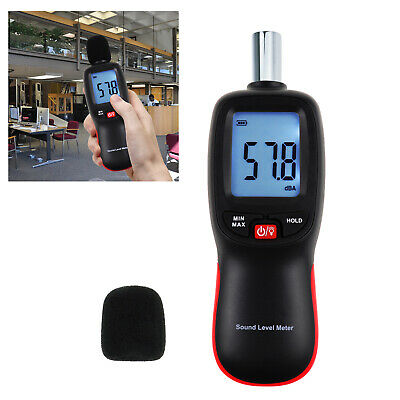 Professional Sound Level Tester Noise Volume Measuring 30~130dBA with Backlight