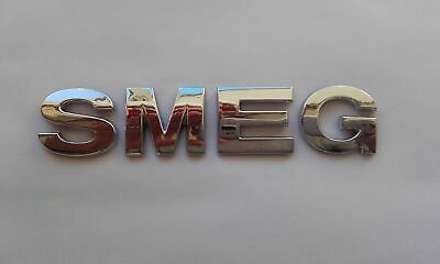New Smeg Chrome Letters For Kettle, Toaster,Fridge, Freezer, Cooker Etc