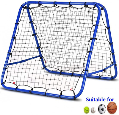 Football Training Net Pro Rebounder Soccer Target Goal Play Teaching Children