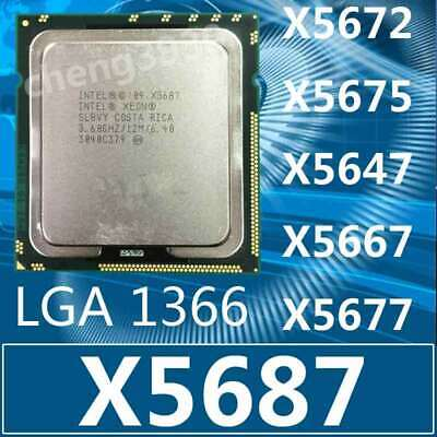 Intel Xeon x5647 x5667 x5672 x5675 x5677 x5687 Wholesale LGA 1366 CPU-Processor