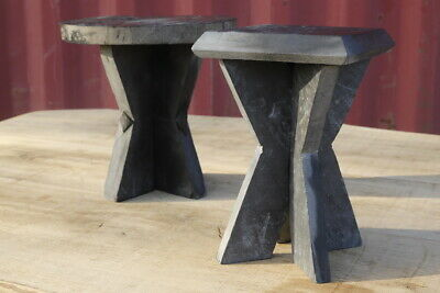 Pair of 20th century state table/stands