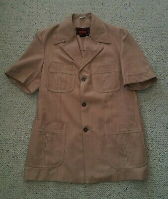 Genuine vintage safari suit jacket made in Australia by Gentry size 38 Reg