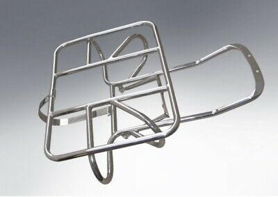 Lambretta Horizontal Rear Rack Wheel Holder Series 3 / Gp In Stainless Steel