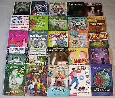 Lot 25 BOYS Level 3 ACCELERATED READERS 3rd Grade AR Chapter Books FREE SHIP