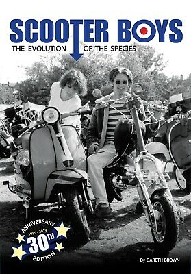 SCOOTER BOYS by Gareth Brown tracing the evolution of the SCOOTERBOYS and Mods