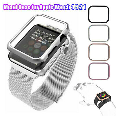 Metal Protective Case Watch Cover Aluminum For iWatch Apple Watch 4 3 2 1