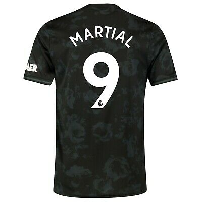 D71 Mens M Manchester United Third Shirt 2019 - 20 FREE Martial 9