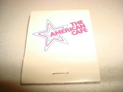 Rare Vintage Matches The American Cafe Washington Baltimore USA Original!