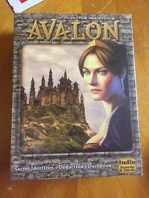 The Resistance Avalon Board Game Sealed New in Box