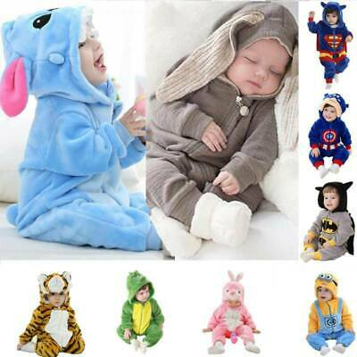 Baby Boys Christmas Romper Pajamas Outfit Costume Girls Party Fancy Dress Winter