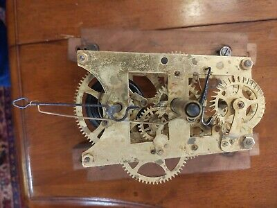 Antique Clock Movement Runs Super Nice!