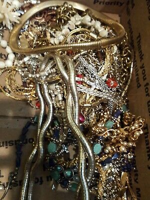 NECKLACE JEWELRY LOT ALL Good Wear Resell Estate Vintage MODERN 3 Pc