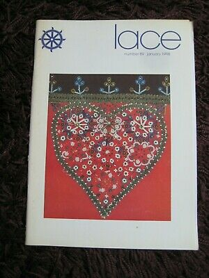 Lacemaking magazines: Lace Guild number 89 (January 1998)