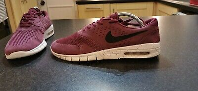NIKE SB ERIC Koston 2 Max Trainers Size 9 In Villain Red