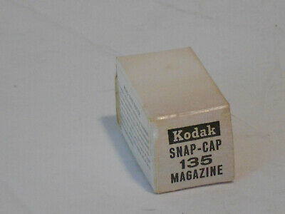 Kodak Snap-Cap 135 Magazine In Unopened Box