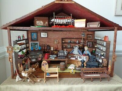 WOOD LADDER Miniature DOLL HOUSE General Store Accessories LeeWards