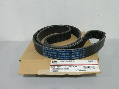 Cogged  3//8 X 71 SAME DAY SHIPPING FACTORY NEW! 3VX710 V-Belt
