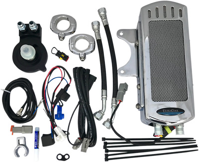 NEW ULTRACOOL SMSP-1C Oil Cooler Kits Chrome