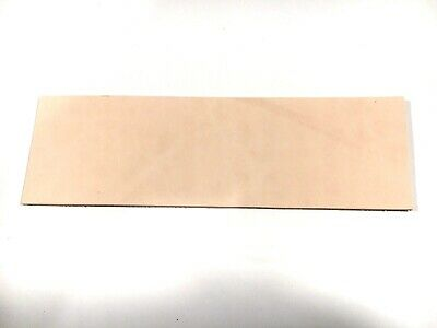 2mm Leather OffCut 20 by 7cm off cut TOOLING Veg Tanned Remnants STROP RATS BUM