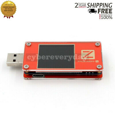 ChargerLAB POWER-Z Portable USB PD Tester Meter MFi Battery Mobile Testing KT001