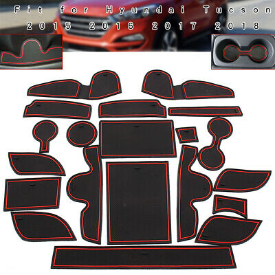 MR76* Car Interior Door Mat Non-slip Cup Pads Covers For ford Fiesta 2009-2014