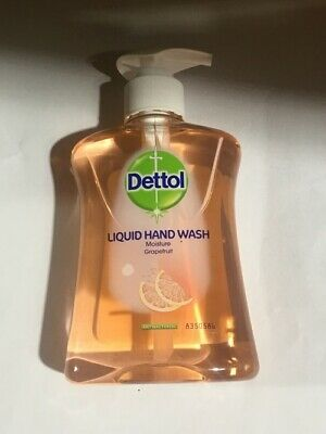 5 x DETTOL HAND WASH GRAPEFRUIT 250ML