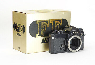 Boxed Black Body Nikon FE includes Papers No.3102677